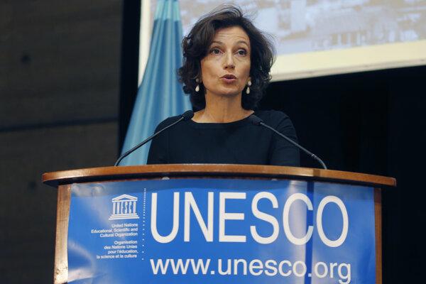 Generálna riaditeľka Organizácie Spojených národov pre vzdelávanie, vedu a kultúru (UNESCO) Audrey Azoulayová.