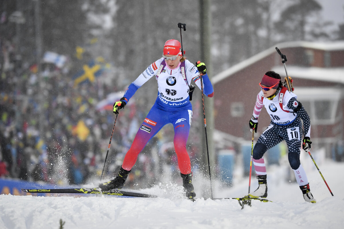 Online Stíhačka žien Na Ms V Biatlone 2019 Kuzminová Sportsmesk
