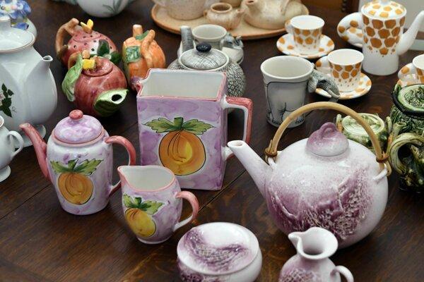 Výstavu historických čajníkov si môžete pozrieť v Múzeu a Kultúrnom centre južného Zemplína v Trebišove.