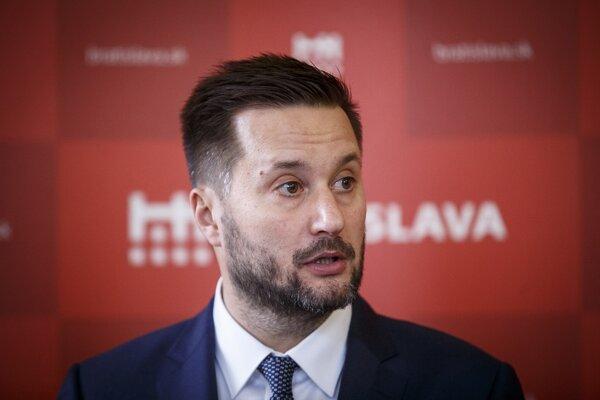 Bratislavský primátor Matúš Vallo.