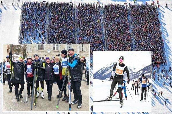 Medzi 14-tisíc účastníkmi Engadin maratónu boli aj bežkári z Nitry.