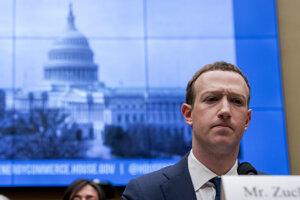Šéf Facebooku Mark Zuckerberg.