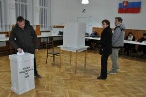Voľby prezidenta v Osádke.