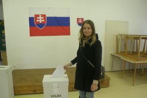 Prvé kolo prezidentských volieb 2019 v Nových Zámkoch.