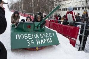 Okrem detských hračiek sa v Rusku vyvíjajú aj naozajstné sofistikované zbrane.