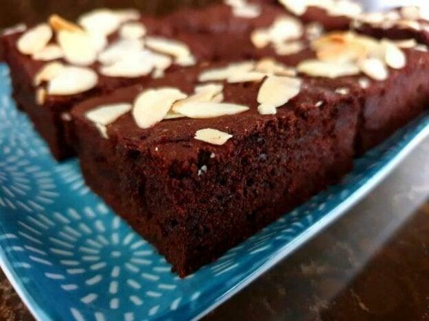 Pohánkové brownies s cviklou