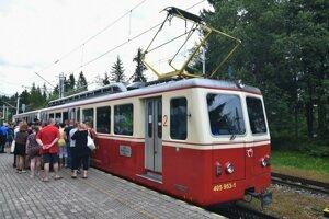 Zmodernizuje sa aj vozový park ozubnicovej železnice.