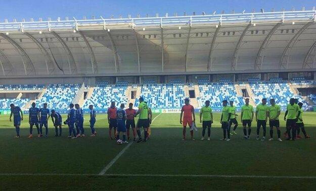 Hralo sa na útulnom 5-tisícovom Štadióne Nándora Hidegkutiho.