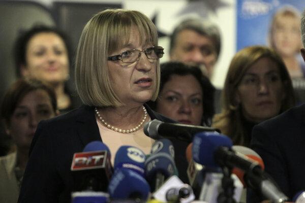 Bulharská ministerka spravodlivosti Cecka Cačevová.