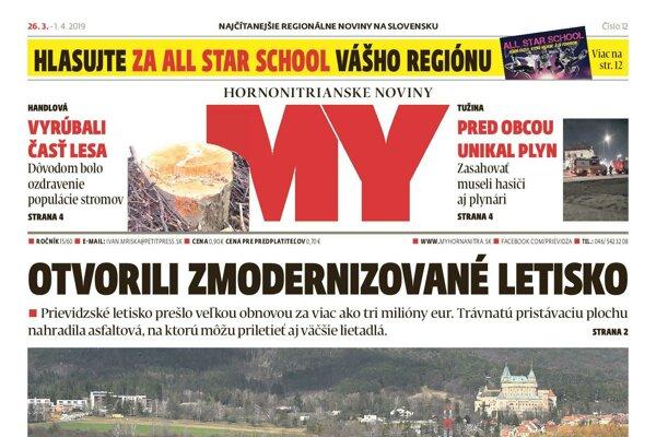 Nové číslo MY novín.