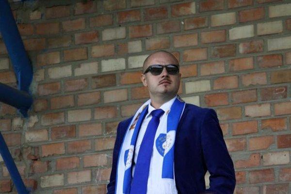Majiteľ klubu OFC Russel Gabčíkovo György Csörgő.