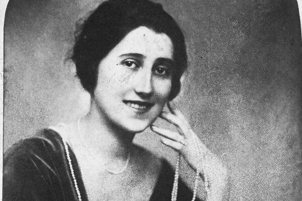 Lola Márai na jednom zo vzácnych portrétov.