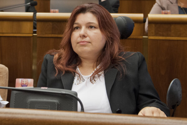 Poslankyňa Silvia Shahzad za OĽaNO-NOVA.