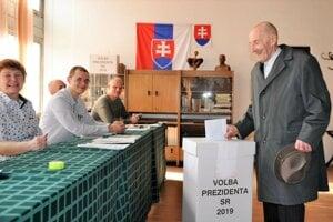 Najstarší Dolnokubínčan, 99-ročný Ján David nevynechal ani jedny voľby.