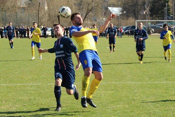 O výsledku medzi Chlebnicami a Tvrdošínom rozhodla posledná minúta zápasu.