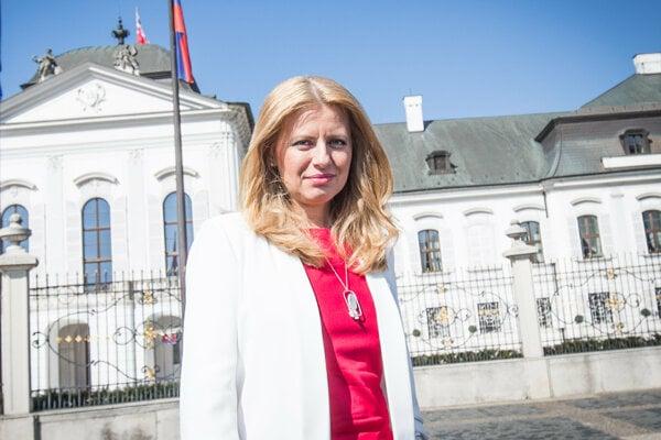 Zuzana Čaputová sa funkcie ujme v polovici júna.