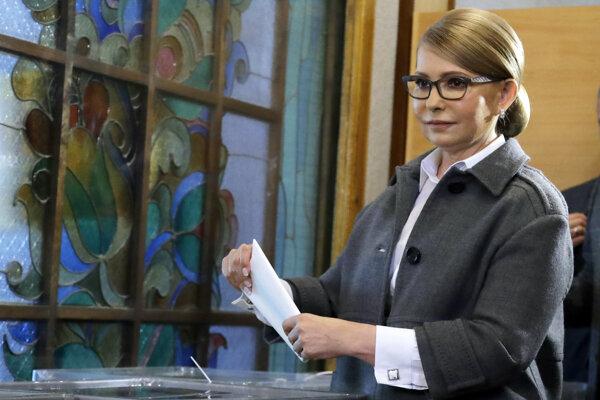 Bývalá ukrajinská premiérka Julija Tymošenková.