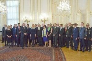 Na podujatí sa zúčastnil prezident A. Kiska.