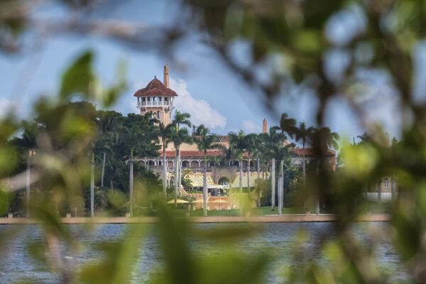 Súkromný klub Mar-a-Lago, ktorý patrí Trumpovi