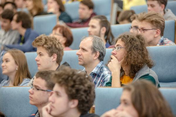 Účastníci podujatia na Žilinskej univerzite.