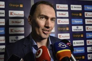 Generálny manažér slovenskej hokejovej reprezentácie Miroslav Šatan.