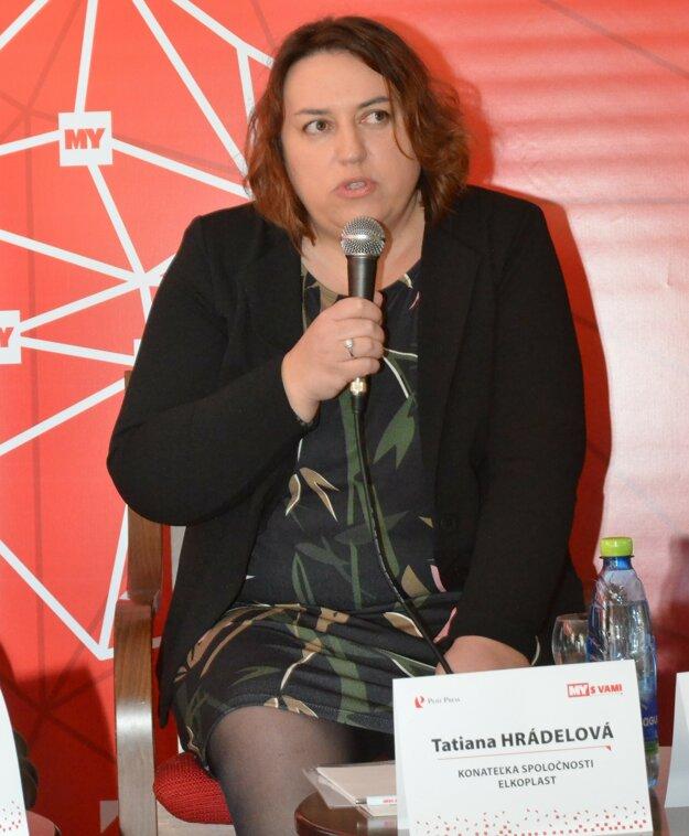 Tatiana Hrádelová.