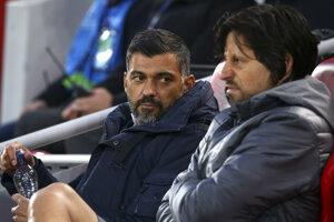 Sergio Conceicao (vľavo), tréner FC Porto.