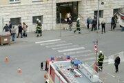 Levický okresnú súd evakuovali.