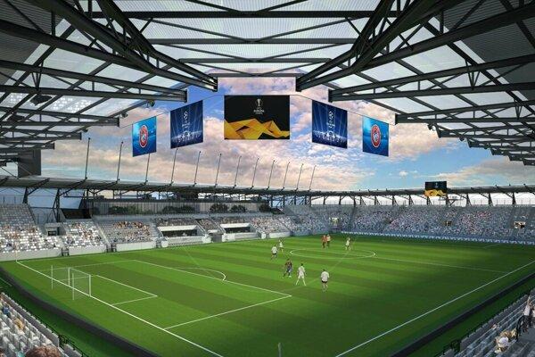 Z Košickej futbalovej arény by mal byť po dokončení všetkých troch plánovaných etáp, najmodernejší futbalový stánok na východnom Slovensku.