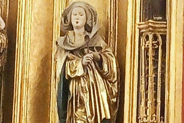 Svätá Alžbeta Uhorská v košickom Dóme.