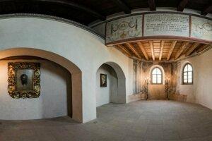 Renesančná kaplnka vybudovaná v období Gašpara Tríbela