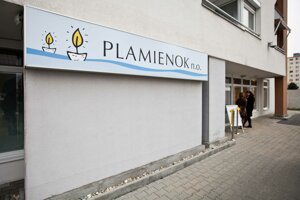 Denné centrum Plamienok.