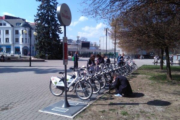 Bikesharing v Žiline má veľký úspech.