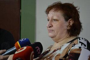 Danka Oľhová, jedna z poškodených učiteliek.
