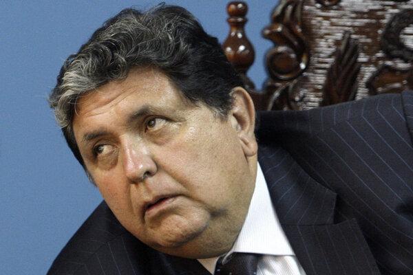 Bývalý peruánsky prezident Alan García.