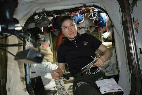 Americká astronautka Christina Kochová.