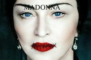 Obal štrnástej nahrávky Madonny.