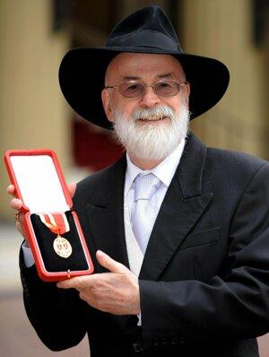 spisovateľ Terry Pratchett