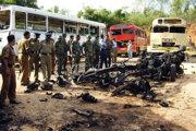 Útok Tamilských tigrov na vojenský konvoj v októbri 2006.