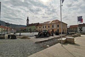 Obnova Mariánskeho námestia.