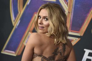 Scarlett Johansson na premiére filmu Avengers: Endgame
