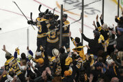 Hokejisti Boston Bruins.