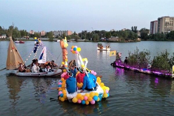 Košické Benátky patria k najnavštevovanejším podujatiam počas osláv.