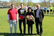 Odovzdávanie ocenenia in memoriam rodine Antona Jobba