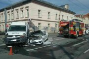 Nehoda na Gorkého ulici