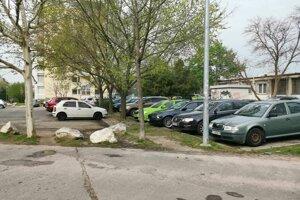 Parkovisko na Prednádraží, kde sa celý incident odohral.