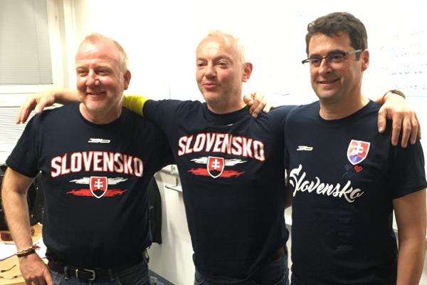 Miroslav Mackulín (vpravo) sa venuje rozvíjaniu projektov pre trénerov, hráčov a rodičov.