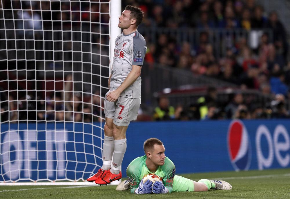 e74701c71b Liga majstrov - semifinále  Najlepšie momentky zo zápasu FC Barcelona - FC  Liverpool - fotogaléria - sport.sme.sk - sport.sme.sk