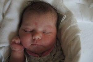 Katarína Koyšová (3200 g, 48 cm) sa narodila 21. apríla Kataríne a Radoslavovi z Dubnice nad Váhom.