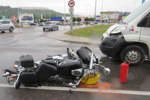 Nehoda pri Tescu.